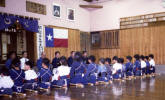 Chiba Dojo: Note the Texas Flag